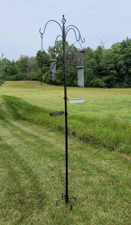 MIXXIDEA bird feeder pole system