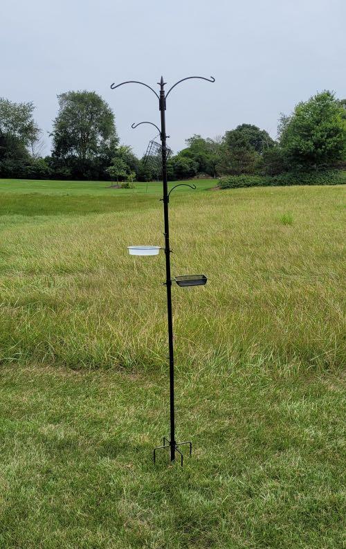 Yosager bird feeder pole system
