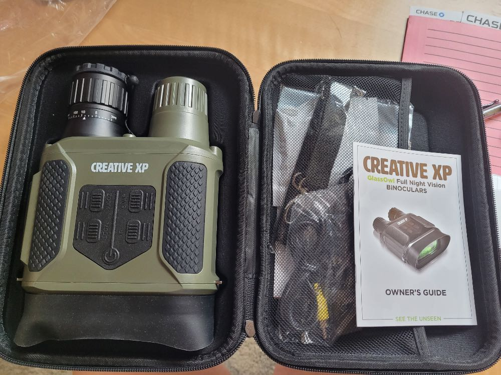 CreativeXP Glass Owl Pro binocular camera