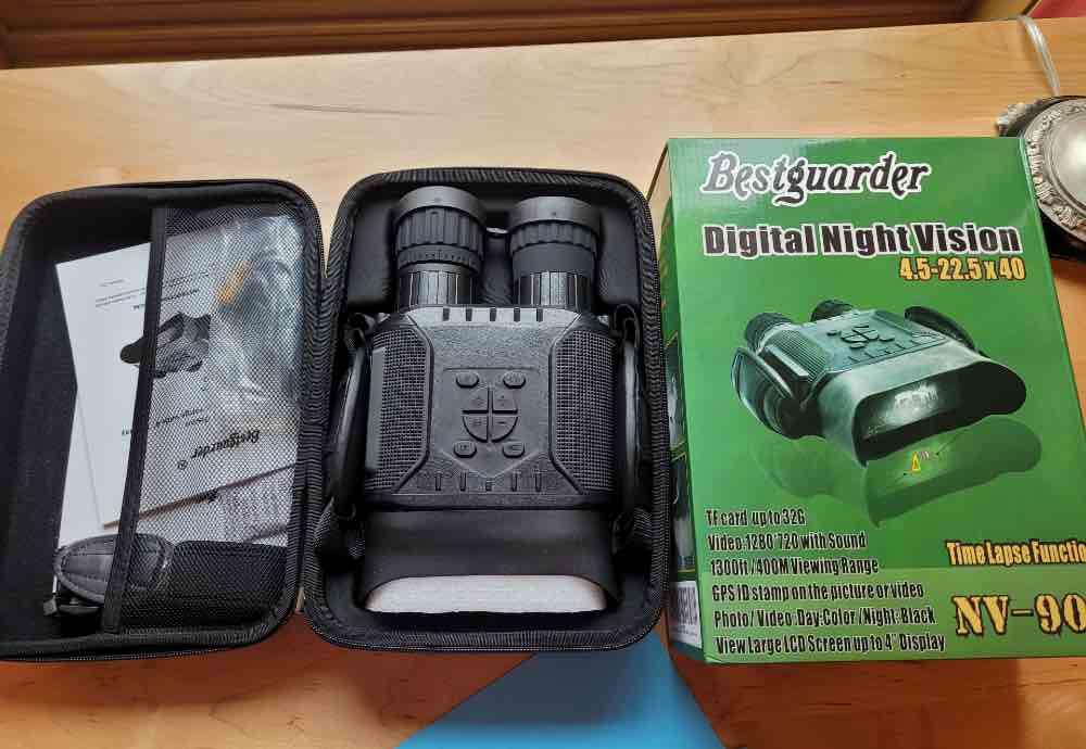 Bestguarder NV900 Binocular Camera