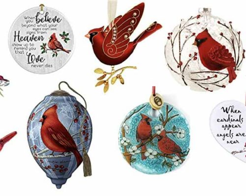 A Collection of 35+ Hand-Selected Cardinal ornaments